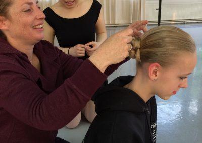 Talvandansen - Dansles - knot maken